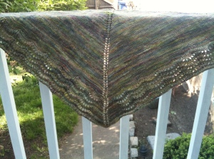 Susan's Second Scalloped Shawl