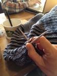 knitting starbucks