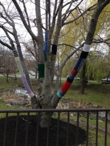 yarn bombing nfl
