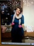 Pompom scarf!