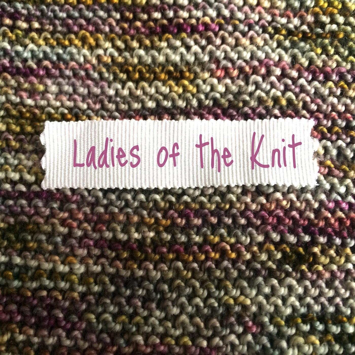Ladies Of The Knit Our Knitting Adventures Hoodie Fingerless Maroon